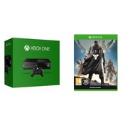 Xbox One Console (without Kinect sensor) and Destiny Xbox One Game