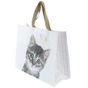 Cute Cat Design Durable Reusable Shopping Bag
