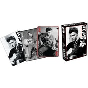 Elvis Playing Cards Black & White