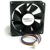StarTech 80x25mm Computer Case Fan with PWM Pulse Width Modulation Connector