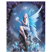 Small Star Gazer Canvas Picture by Anne Stokes