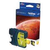 Brother LC-1100HYY Ink cartridge yellow, 750 pages, 10ml