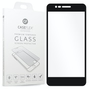 CASEFLEX LG K8 (2018) TEMPERED GLASS (SINGLE) - BLACK EDGE