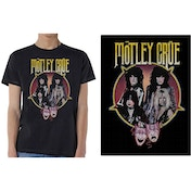 Motley Crue - Theatre Pentagram Men's X-Large T-Shirt - Black