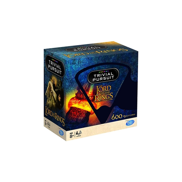 Trivial Pursuit Lord of the Rings Board Game - Image 1
