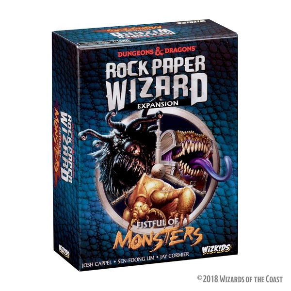 Dungeons & Dragons Rock Paper Wizard: Fistful of Monsters Expansion