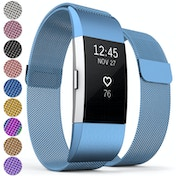 Proworks FitBit Charge 2 Milanese Metal Strap - Blue