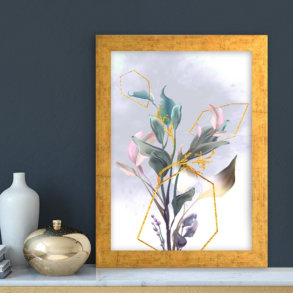 AC14873459635 Multicolor Decorative Framed MDF Painting