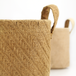 Cotton Jute Storage Baskets - Pack of 2 | M&W - Image 3