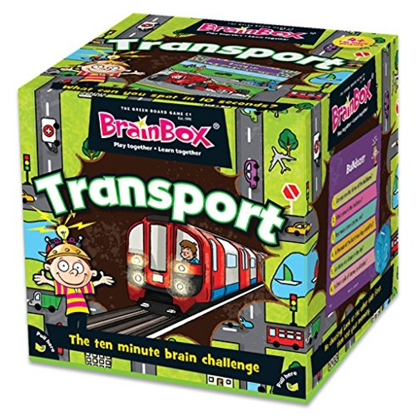 BrainBox Transport Card Game