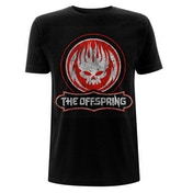 The Offspring - Distressed Skull Men's Large T-Shirt - Black