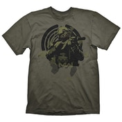 Call Of Duty: Modern Warfare Soldier In Focus Men's Large T-Shirt - Green