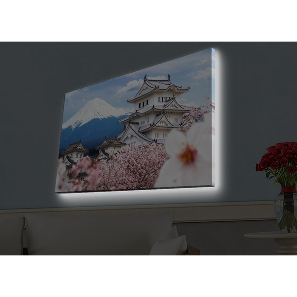 4570HDACT-090 Multicolor Decorative Led Lighted Canvas Painting