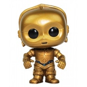 Ex-Display C-3PO (Star Wars) Funko Pop! Vinyl Bobble-Head Figure Used - Like New