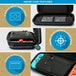 Nintendo Switch Officially Licensed Zelda Breath of the Wild Sheikah Eye Deluxe Travel Case - Image 4