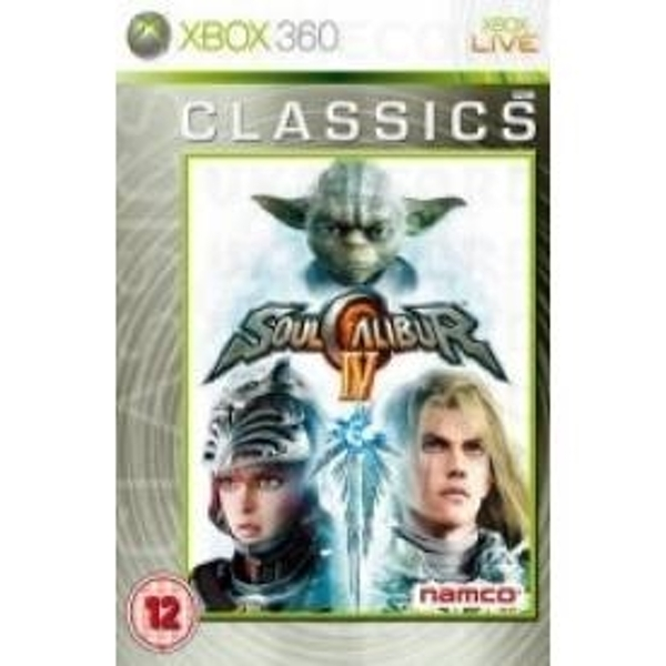 Soul Calibur IV 4 Game (Classiscs) Xbox 360