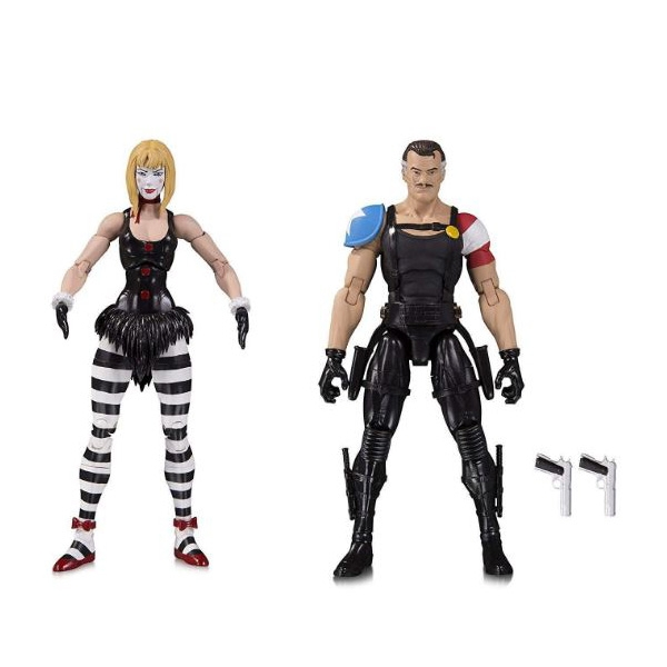 Comedian & Marionette (DC: Doomsday Clock) Action Figure 2 Pack - Image 1