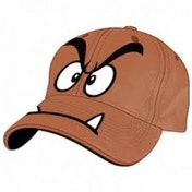 Nintendo Goomba Brown Adjustable Cap