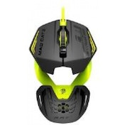 Mad Catz R.A.T. 1 Wired Gaming Mouse (Green) for PC