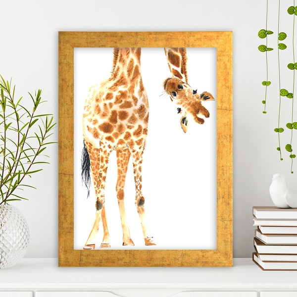 AC589411454 Multicolor Decorative Framed MDF Painting