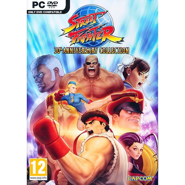 Street Fighter 30th Anniversary Collection PC Game