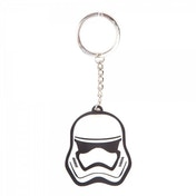 Star Wars The Force Awakens Unisex 3D Stormtrooper Mask Rubber Keychain