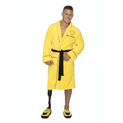 Mr Men & Little Miss – Mr Happy Adult Fleece Robe