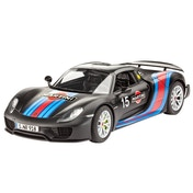 Porsche 918 Weissach Sport Car Revell Model Kit