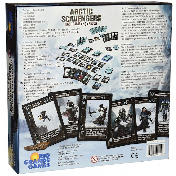 Arctic Scavengers Base Game + HQ + Recon Expansion - Image 2