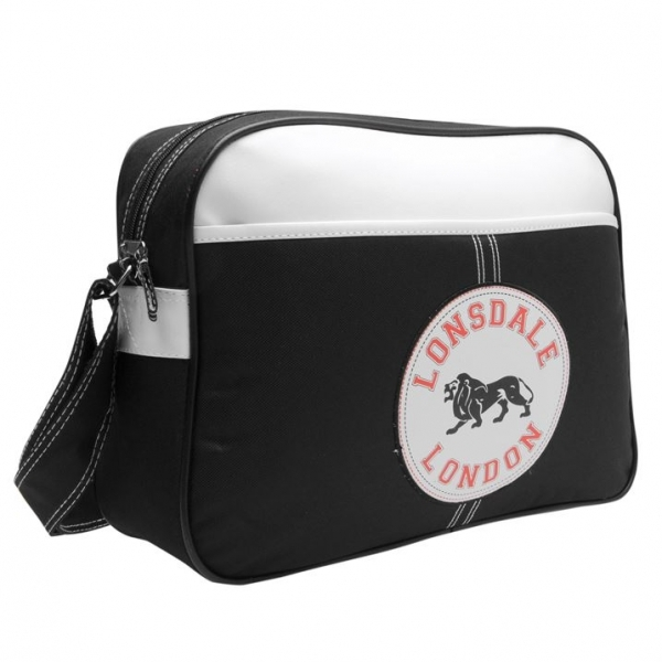 Hey! Stay with us... Lonsdale Flight Bag Black e5185523091c1