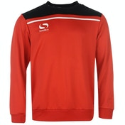 Sondico Precision Sweatshirt Youth 9-10 (MB) Red/Black