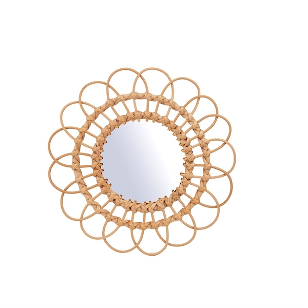 Sass & Belle Rattan Mirror Medium