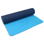 UFE 6mm TPE Yoga Mat - Blue/Navy