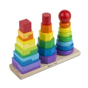 Melissa and Doug Geometric Stacker (10567)