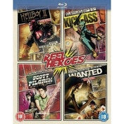 Reel Heroes - Hellboy 2 / Wanted / Scott Pilgrim / Kick Ass Blu-Ray
