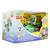 Disney Toy Story Radio Controlled Car - Buzz & Woody - Damaged Packaging