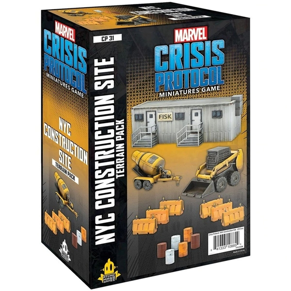 Marvel Crisis Protocol Miniatures Game -  NYC Construction Site Terrain Pack