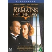 The Remains of the Day DVD