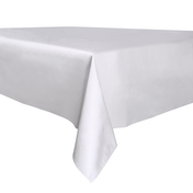 Decorative Home Tablecloth - 137cm x 200cm | Pukkr White
