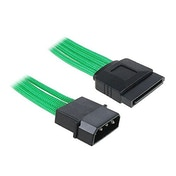 BitFenix Alchemy Molex to SATA Adapter 45 cm - sleeved green/black