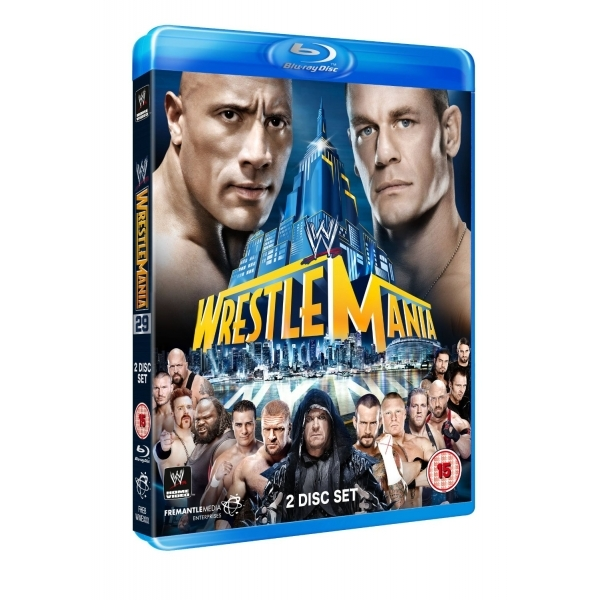 WWE WrestleMania 29 Blu-ray