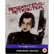 Resident Evil: Retribution 3D Steelbook Edition Blu-ray