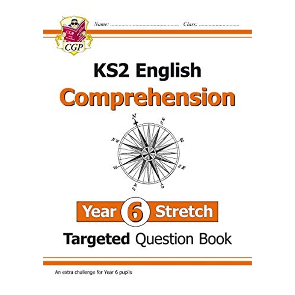 New KS2 English Targeted Question Book: Challenging Comprehension - Year 6+ (with Answers) by CGP Books (Paperback, 2017)