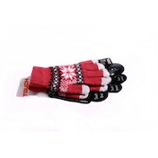 Satzuma Touch Screen Gloves Red
