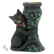 Midnight Cat Statue Figurine