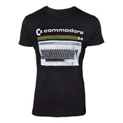 Commodore 64 - Classic Keyboard Men's Small T-Shirt - Black