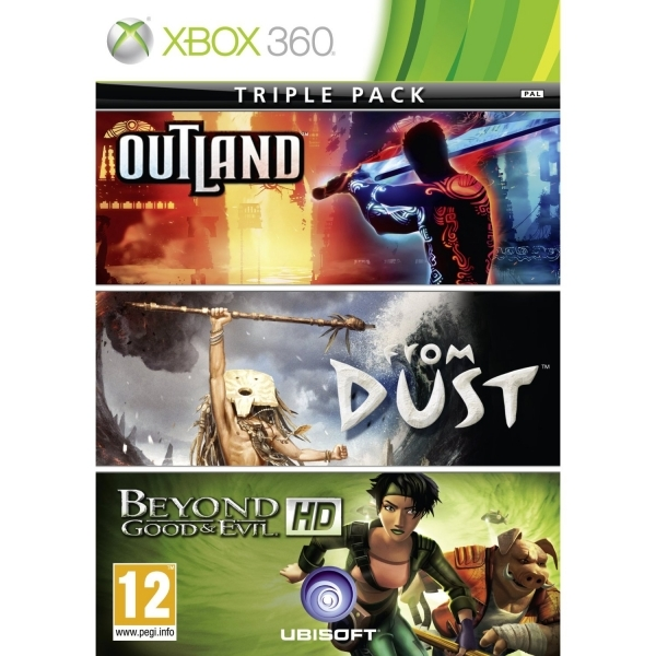 Xbox Live Hits Collection From Dust, Beyond Good and Evil and Outland Game Xbox 360