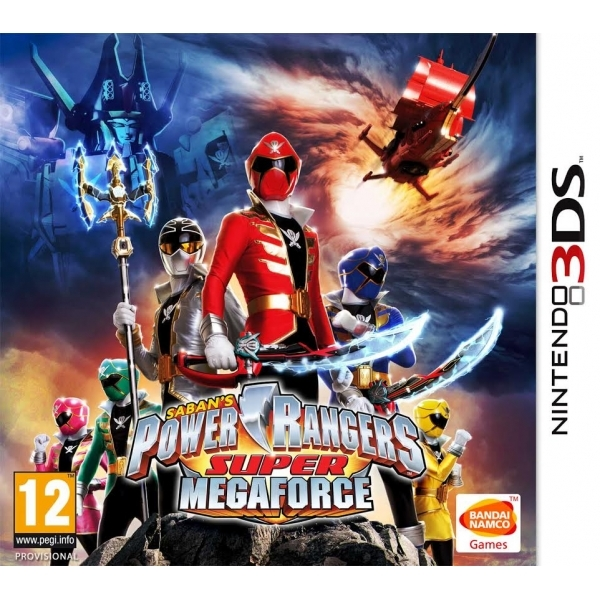 Power Rangers Super Megaforce 3DS Game - Image 1
