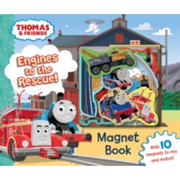 Thomas & Friends: Engines to the Rescue! Magnet Book by Egmont Publishing UK (Novelty book, 2016)