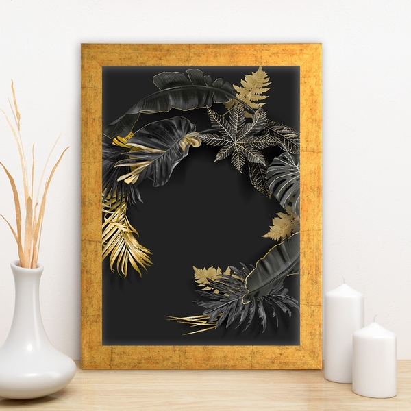 AC12272171954 Multicolor Decorative Framed MDF Painting